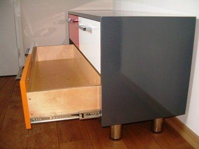 kogelbaan ladegeleiders:volledig uittrekbaar kies uw lengte.