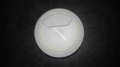 Kabeldoorvoer Wit 60mm -- 80mm of 50mm